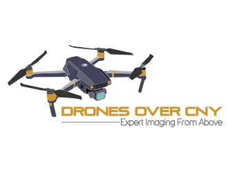 Drones Over CNY logo design