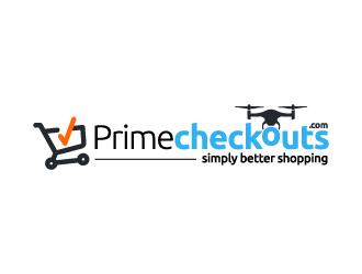 Primecheckouts.com logo design