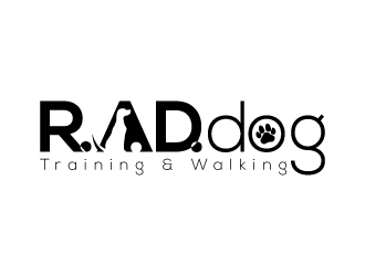 R.A.D. dog logo design