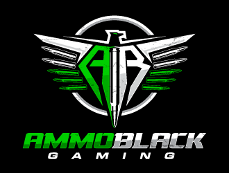 Ammo Black Gaming logo design