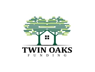 Twin Oaks Funding logo design