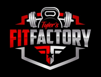 Tyler's FitFactory  logo design