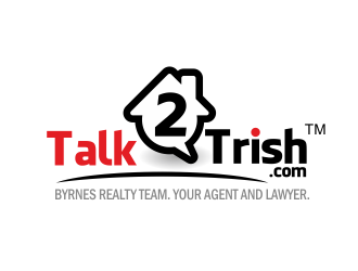 Talk 2 Trish logo design