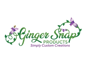 Ginger Snap Products logo design