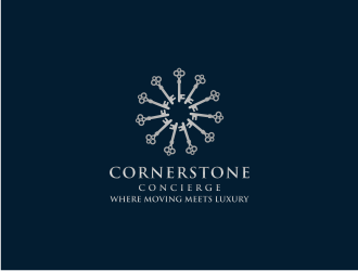Cornerstone Concierge logo design