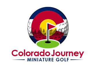 Colorado Journey Miniature Golf Logo Design 48hourslogo Com