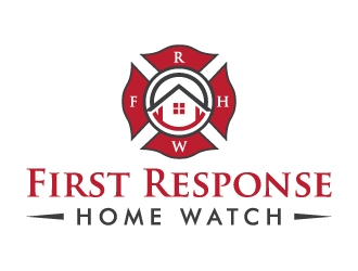 First Response Home Watch  logo design