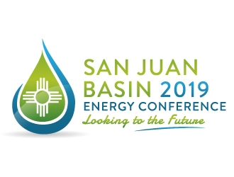 SAN JUAN BASIN 2019 ENERGY CONFERENCE LOOKING FOR THE FUTURE logo design
