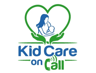 Kid Care on Call logo design