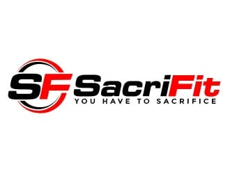 SacriFit logo design