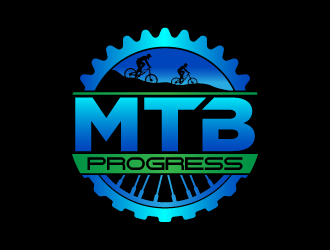 MTBprogress logo design