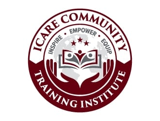iCare Community Training Institute logo design