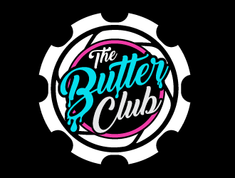 The Butter Club logo design