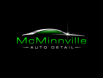 McMinnville Auto Detail logo design