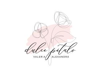 Dulce Pétalo logo design