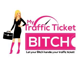 Ticket Bitch logo design