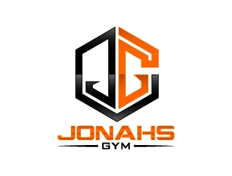 Jonahs Gym logo design