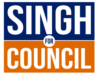 Singh for City Council  winner