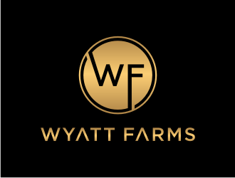 Wyatt Farms logo design