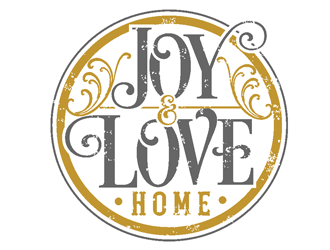 Joy & Love l Home logo design