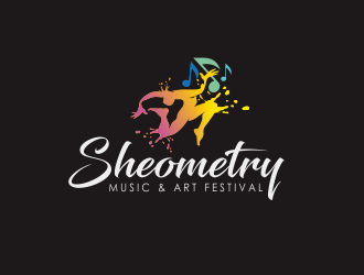 SHEOMETRY logo design