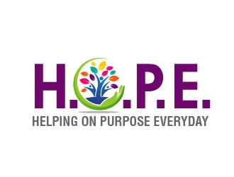 Helping on Purpose Everyday (H.O.P.E.) logo design