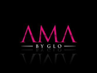 AMA BY GLO logo design