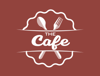 The Cafe logo design