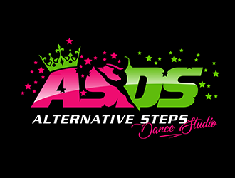Alternative Steps Dance Studio logo design