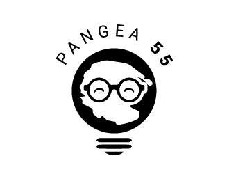 Pangea 55 logo design