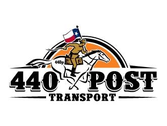 Pony Express Transport  logo design