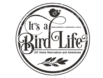 Its a Bird Life - DIY Home Renovations & Adventures logo design