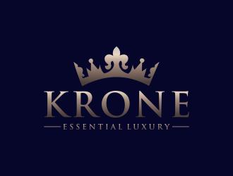KRONE logo design