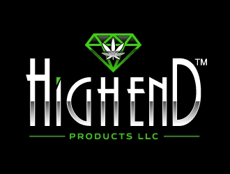 High End Products LLC logo design