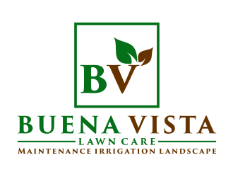 Buena Vista Lawn Care logo design