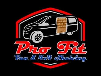 Pro-Fit Van & 4x4 Shelving logo design