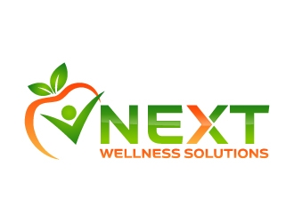 NEXT Wellness Solutions logo design