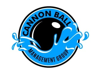 Cannon Ball Management Group logo design