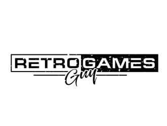 Retro Games Guy logo design