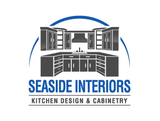 Seaside Interiors logo design