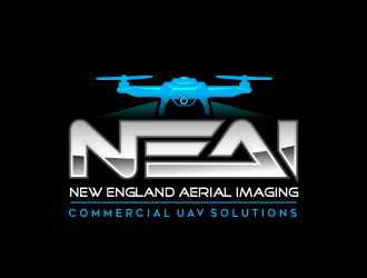 New England Aerial Imaging (NEAI) logo design