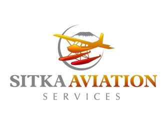 Sitka Aviation Services logo design