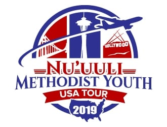 Nuuuli Methodist Youth logo design