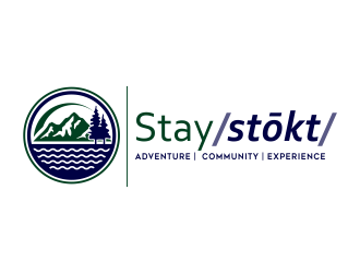 Stay Stoked  logo design