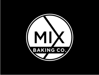 Mix Baking Co. logo design