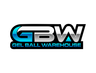Gel Ball Warehouse logo design