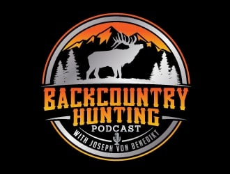 Backcountry Hunting Podcast logo design