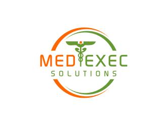 Med-Exec Solutions logo design