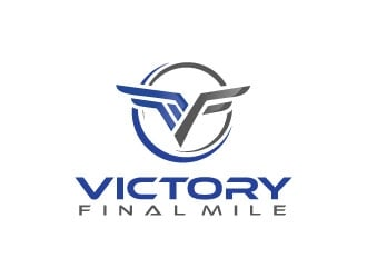 Victory Final Mile logo design