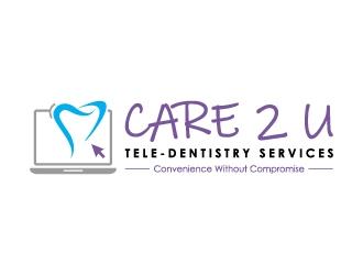 Care 2 U   Tele-Dentistry Services    logo design